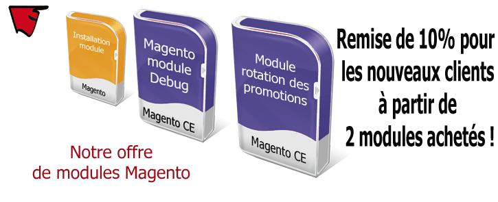 Nos modules Magento