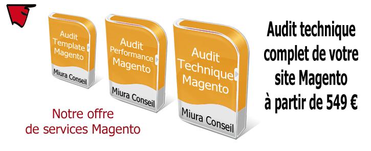 Nos offres de services Magento